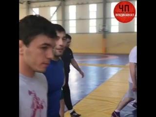 тренировки сборной РСО_А под патриотические песни 9 мая