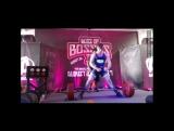 Дрю Оттавей - тяга 345 кг (90 кг)