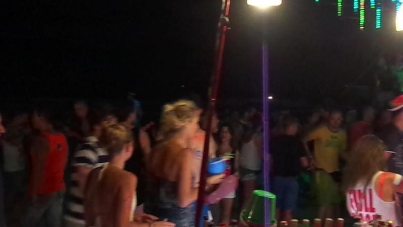 Full Moon party. Koh Phangan. Тусовка на полнолунии