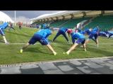 Тренировка сборной России в Краснодаре