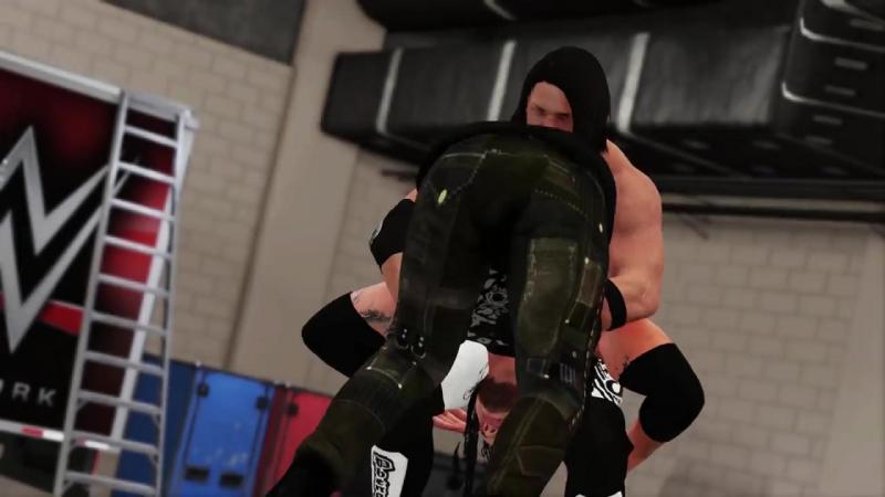 Первый гейиплейный трейлер игры WWE 2K18!