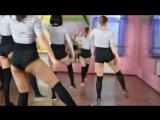 Divos Studio | Подготовка к выпускному продолжается ! Школьницы танцуют !