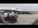 Appears Secretary of State Rex Tillerson just landed on gov plane at Palm Beach Intl Airport