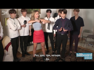 RUS SUB BTS Step by Step Dance Tutorial @ Billboard News
