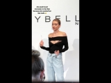 Джиджи на презентации коллекции «GigixMaybelline» — 3 ноября 2017, Нью-Йорк