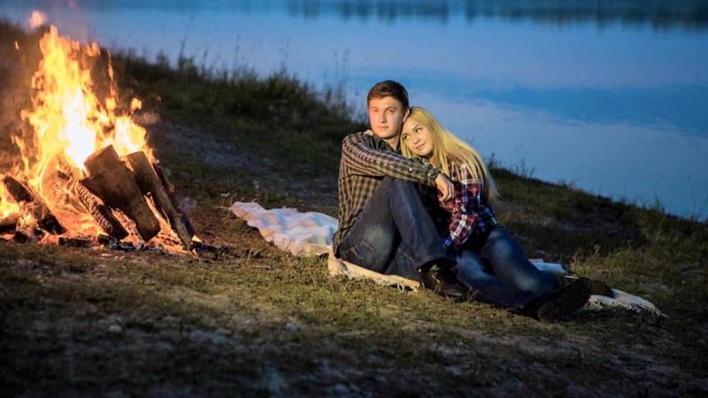 Скажи,что ты любишь меня - Катя Огонек и Владимир Черняков - автор ролика Нелли Запольских