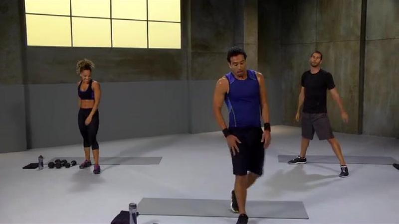 Brett Hoebel HI Intensity Ignite by Spri Workouts Dumbell Hiit