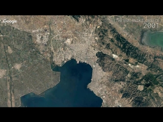Google Timelapse - Thessaloniki, Greece