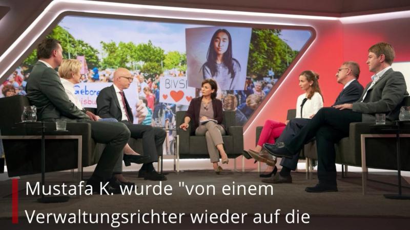 Talk mit Maischeberger Künast verurteilt Abschiebung von Kriminellen...Afghanen