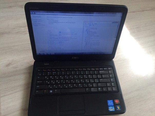 Продам шикарний бізнес ноутбук DELL в чудовому стані. Екран - 14'' (1