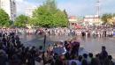 Вальс на площади Конаково гимназия №5 последний звонок 25.05.2017