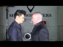Find Out Who Would Win A Shadow World Staring Contest Harry Shum Jr vs Alan van Sprang