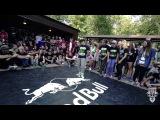 Lady Slam vs Queen Hit Monster | 1/4 Girlz KRUMP BULLS 2014