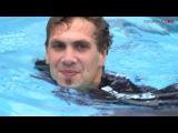 Unterwasser-Photoshooting mit den Spielern der SG Flensburg-Handewitt
