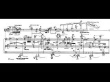 George Crumb - Four Nocturnes (Night Music II) for Violin and Piano (1964) Score-Video