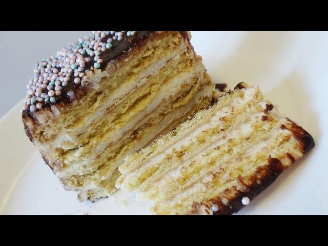 Торт без выпечки из 3- х ингредиентов за 5 минут