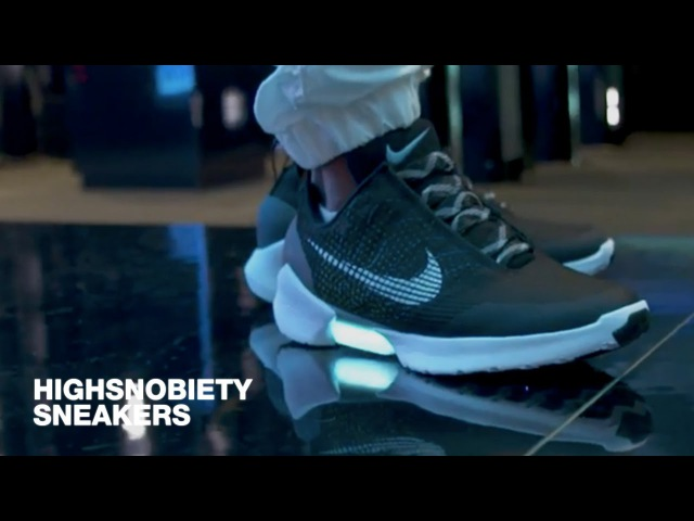Tinker Hatfield Discusses Nike HyperAdapt 1.0