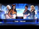 SBW SmackDown - Kaiva Winters &amp Olivia Fox vs Ivory &amp Trish Stratus Tag Team match