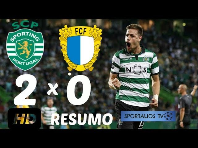 HD| RESUMO - SPORTING CP 2 X 0 FAMALICÃO - TAÇA DE PORTUGAL