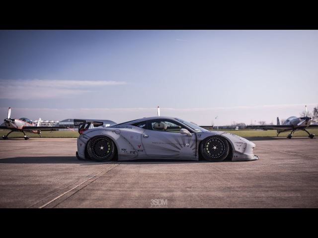 Liberty Walk 458 LB R Fighter Works 3SDM Alloy Wheels