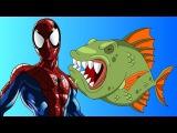 Spiderman fisherman