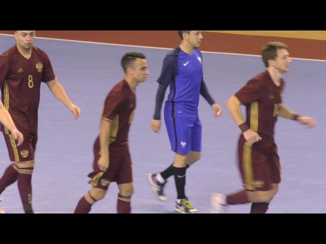Отбор ЕВРО-18. Группа G. Россия - Франция. 5-0. Обзор.