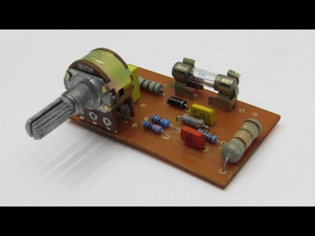 Простое зарядное устройство для Автомобильного аккумулятора своими руками ghjcnjt pfhzlyjt ecnhjqcndj lkz fdnjvj bkmyjuj frrevek