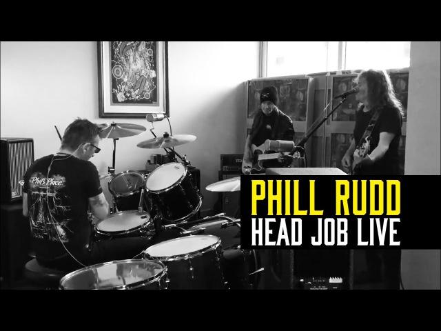 Phil Rudd - Ensaio inédito de sua banda solo (Head Job)