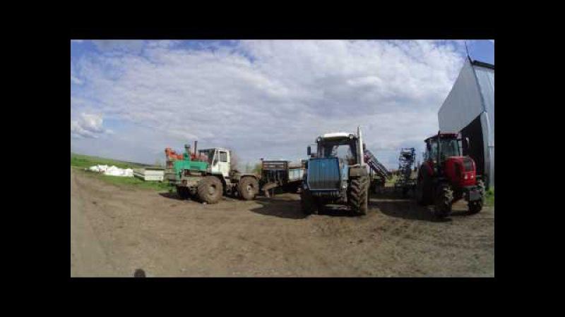 Посвещяется Сергею Корнееву и его предыдущему трактору Т - 150К ,,Генке,,