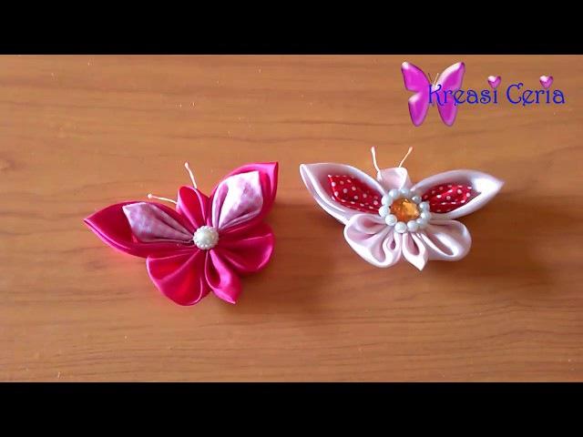 Ide Kreatif Membuat Bross Kupu-kupu dari Kain Perca