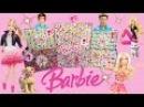 МЕГА-посылка с игрушками БАРБИ из Америки куклы, игровые наборы и трехэтажный д ...