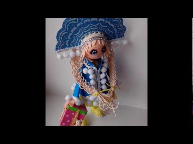 Вернисаж авторской куклы из фоамирана. Надежда Ляховская