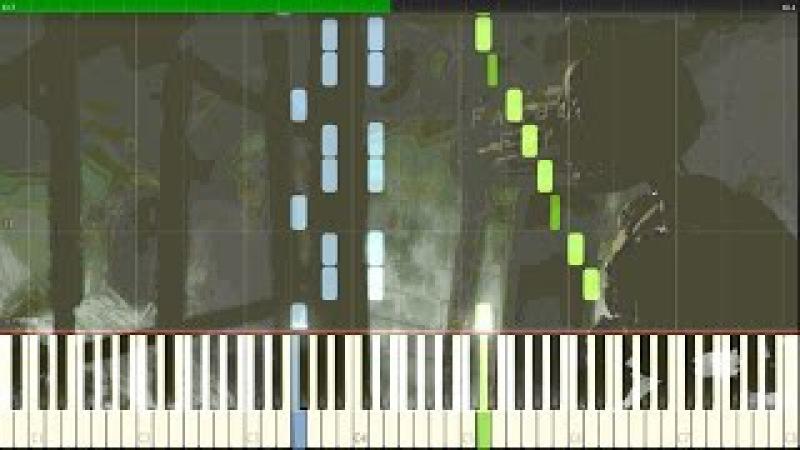 Demolition Inevitable (Springtrap Cutscene Music) - FNaF Sister Location [Synthesia Piano Tutorial]