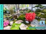 Сад в японском стиле, японское озеро! Финиш строительства (#LANDSCAPE) Japanese garden!