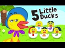 Five Little Ducks | Super Simple Nursery Rhymes for Kids | Most Popular Children Rhymes by BooBoo