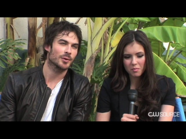 The Vampire Diaries Nina and Ian dish about the season finale