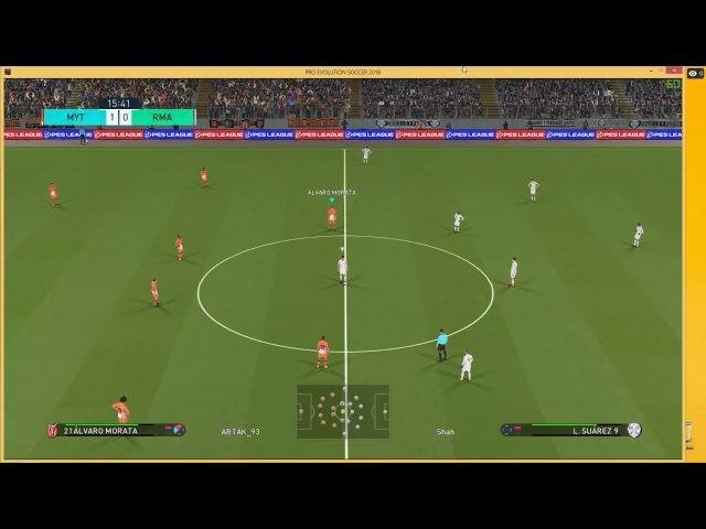 Pro Evolution Soccer 2018 Name:Shah(cheat) report konami