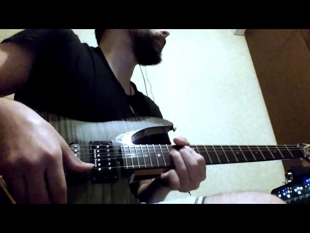 Brian Moore i9.13 Jam. Bridge Humbucker (Seymour Duncan TB-4) split-coil (instagram video)