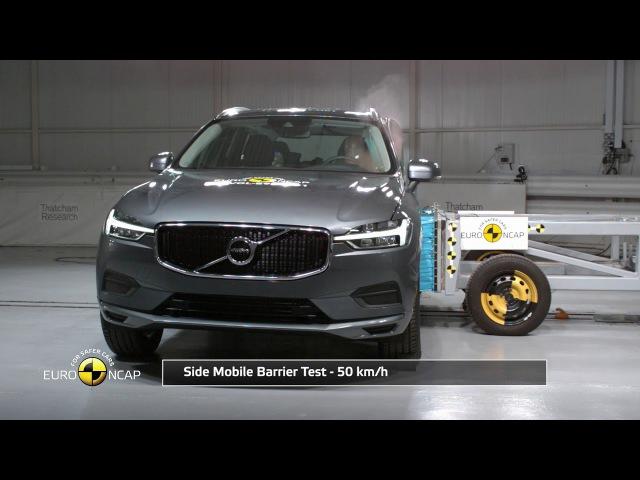 Volvo XC60 Euro NCAP Краш тест
