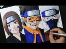 Speed Drawing Rin Obito Kakashi