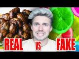 REAL OR FAKE FOOD CHALLENGE