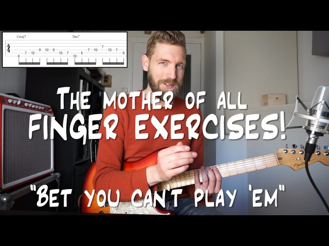 The Mother Of All Finger Exercises - Bet you can't play 'em!