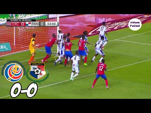 Costa Rica vs Panama 0-0 Resumen Eliminatorias Concacaf