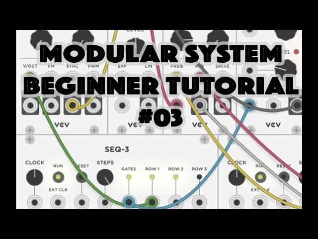 Modular System Beginner Tutorial 03: VCO, PWM, FM ... with VCV Rack