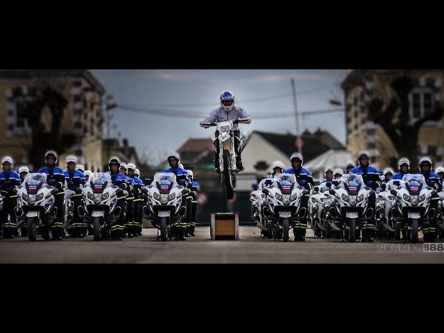 Un jour au CNFM PN Le carrousel vu du ciel La 14 e Promotion Motocycliste de la Police Nationale