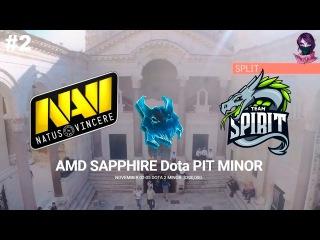 NaVi vs Spirit #2 (bo3) Dota PIT League Season 6 26.09.2017