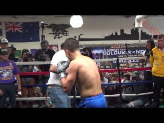 GENNADY GOLOVKIN TRAINING FOR DANIEL JACOBS