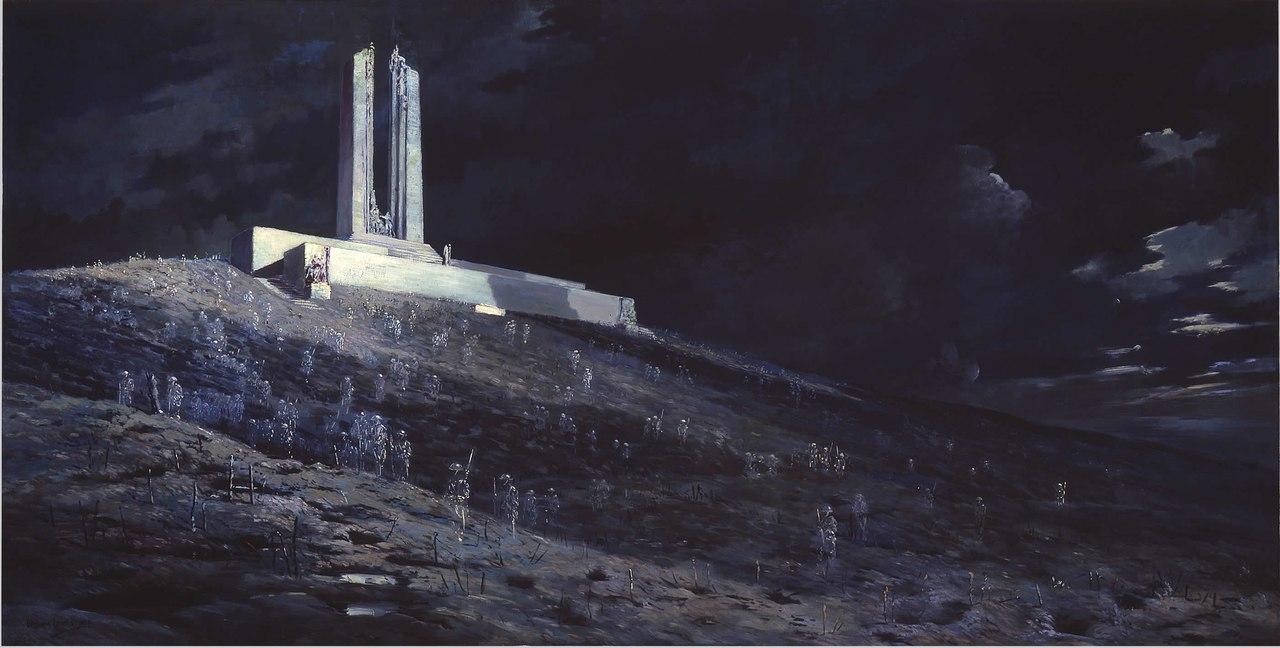 """Хребет Вими"" Вильям Лонгстафф, 1931г"