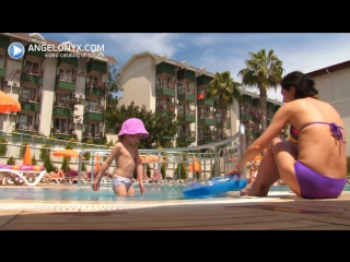 Justiniano Club Alanya 4★ Hotel Alanya Turkey angelonyxcom - YouTube