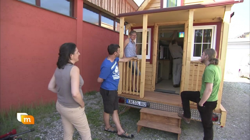 05.07.2017 ORF, heute mittag Minihaus auf Rädern